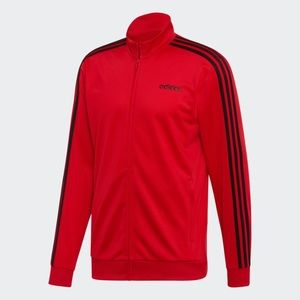ADIDAS MEN'S ESSENTIALS 3 STRIPES JACKET SIZE L